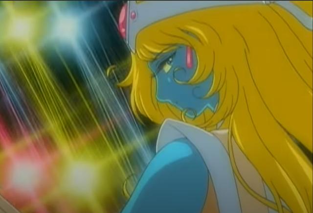 夢境裡那全身都是藍色的女性神明,原型正是Daft Punk的MV裡,女性樂手的面貌