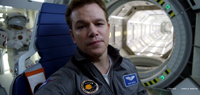 Matt Damon prezintă echipajul uman al navei Hermes în primul clip viral din filmul The Martian