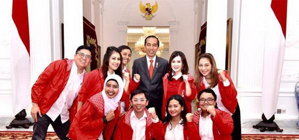 """""""Bahas Pemenangan Jokowi di Istana, PSI 'Kudeta' Trah Soekarno di PDIP"""""""