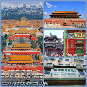 Forbidden City, Tiananmen Square, Niujie Mosque, Muslim Supermarket