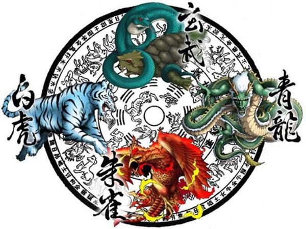 สัตว์เทพทั้งสี่ประจำทิศฮวงจุ้ย @ www.ancient-origins.net