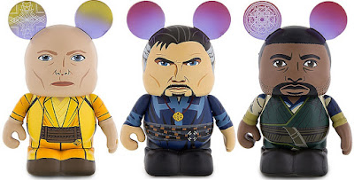 Doctor Strange Movie The Ancient One Marvel Vinylmation Eachez Figures by Thomas Scott x Disney – The Ancient One, Doctor Strange & Mordo