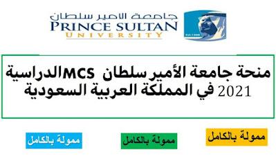 منحة جامعة الأمير سلطان 2021 بالمملكة العربية السعودية