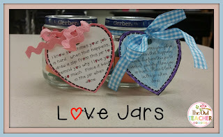 Create an adorable holiday gift for your students to show their love by creating this easy love jar craft! Grab all the materials you need free!