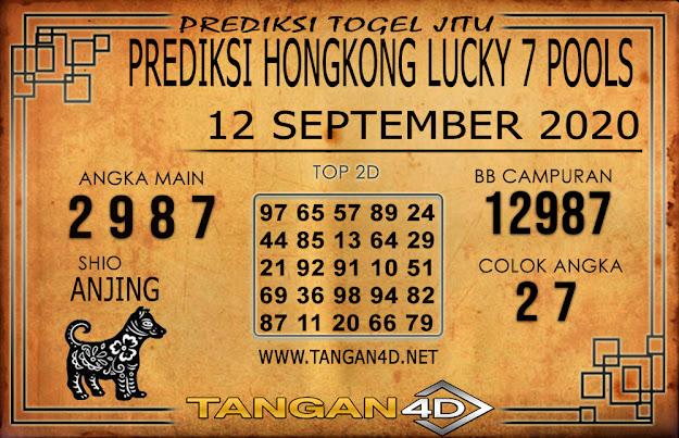 PREDIKSI TOGEL HONGKONG LUCKY 7 TANGAN4D 12 SEPTEMBER 2020