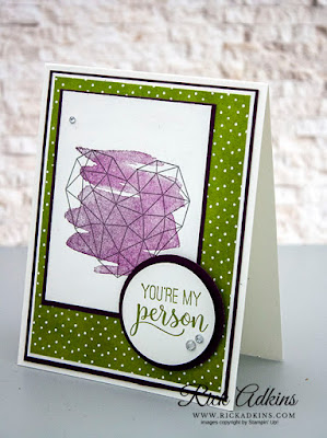 Modern Heart Stamp Set, Best Dressed Designer Series Paper, Rick Adkins, Stampin' Up!