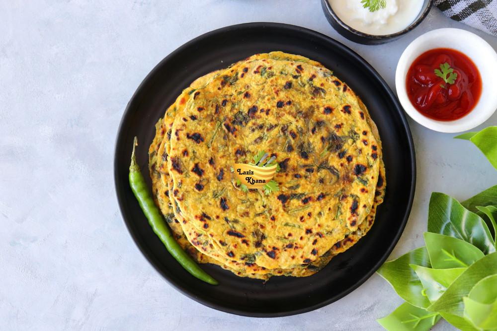Gujarati Methi Ka Thepla Recipe in Hindi