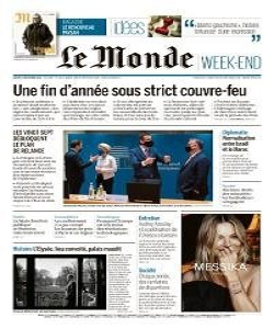 Le Monde Magazine 12 December 2020 | Le Monde News | Free PDF Download
