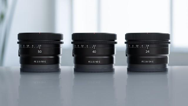 Sony adds three new lightweight G lenses to its impressive E-mount range