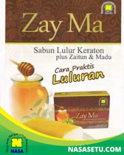 ZayMa Sabun Lulur Keraton plus Zaitun dan Madu