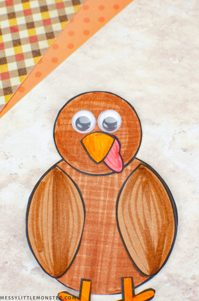 turkey paper craft