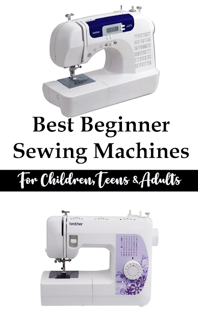 Great list of the Best Sewing Machine for Beginners or the Novice Sewist with recommendations for kids, teens and adults.