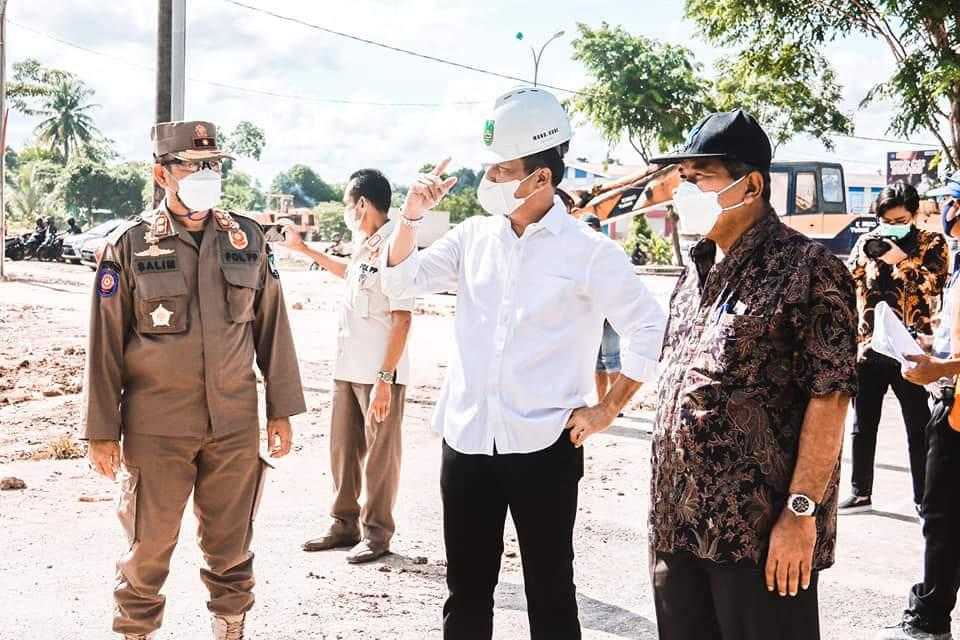 Rudi Optimis Tahapan Pengerjaan Penataan Simpang Basecamp dan Simpang Tembesi Tahun 2021 Selesai