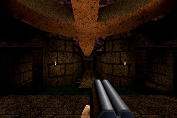 Quake Armas Escopeta de dos cañones