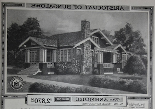 Sears Ashmore, in the 1918 Sears Modern Homes catalog