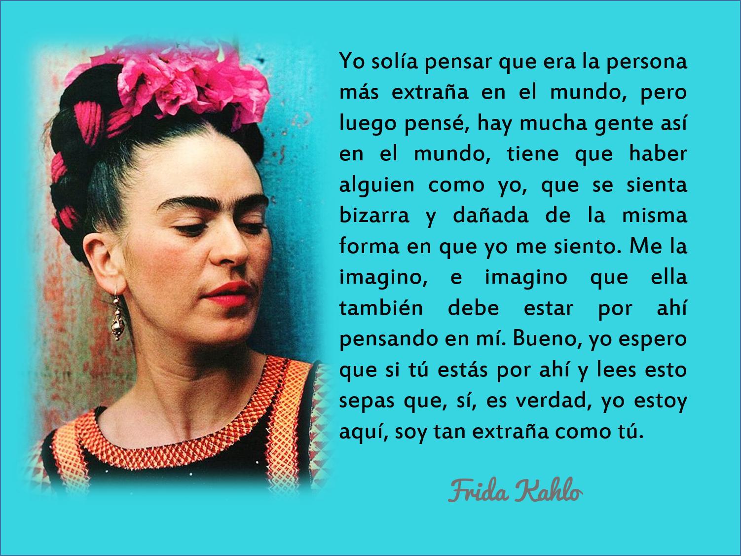 Frases De Olvido Frida Kahlo Citas Para Adultos En Santander