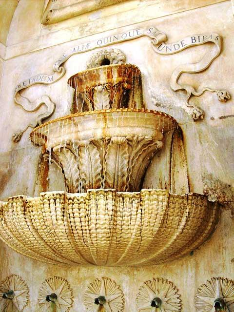 Fountain in Caldas da Rainha