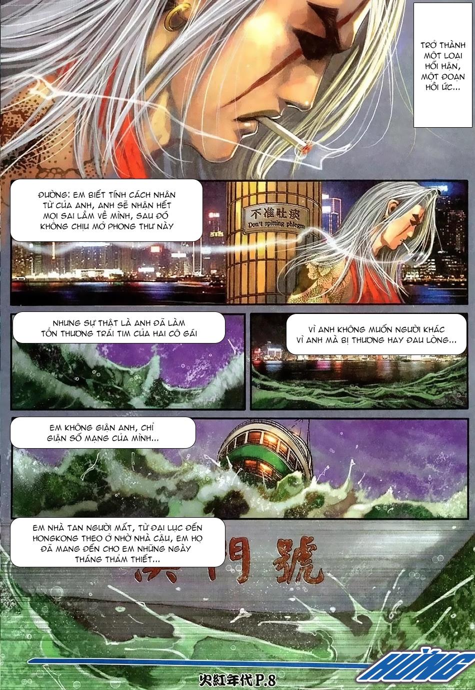 Hỏa Hồng Niên Đại Hắc Cốt Đường Chap 114 - Trang 6