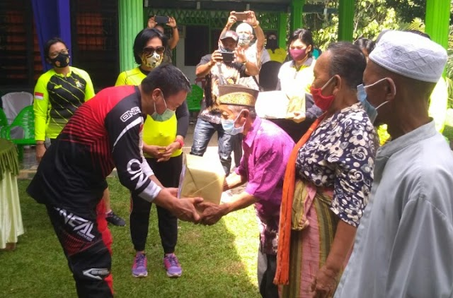 Menyambut Hut Polwan Ke 72, Polresta Deli Serdang Gelar Bhakti Sosial