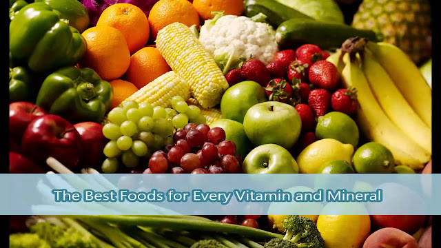 vegetables, fruits, vitamins, minerals