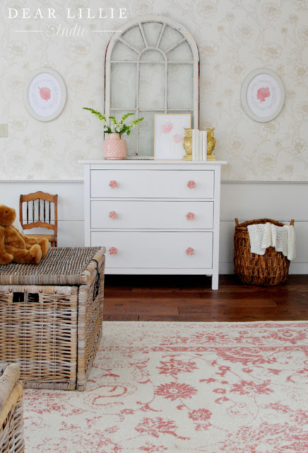 Dear Lillie New Rug In Everly And Eloise S Room At