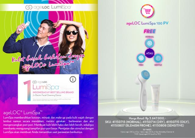 Promo Lumispa Nu Skin November 2020