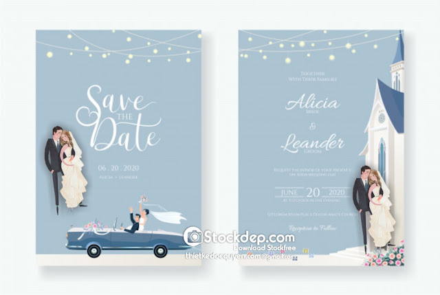 Wedding invitation card free download