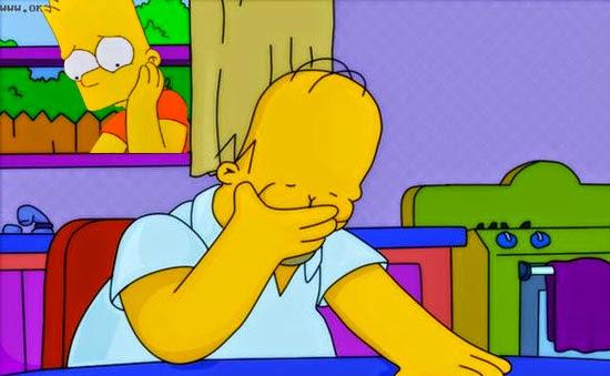 Os Simpsons é proibido