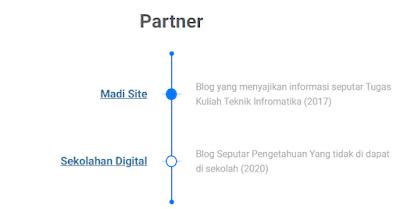 Cara Membuat Halaman Partner di Blogger Untuk Backlink