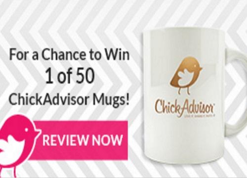 Chickadvisor 24K Mug Giveaway