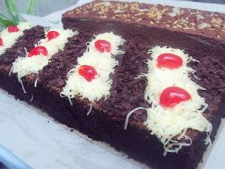 Resep Brownies Panggang Coklat Resep Masakan 4