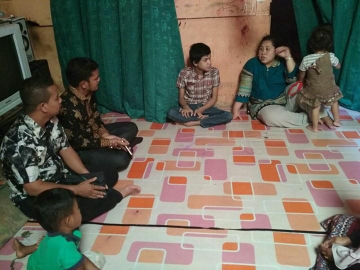 LPD Kunjungin dan Santuni Muhammad Penyandang Disabilitas