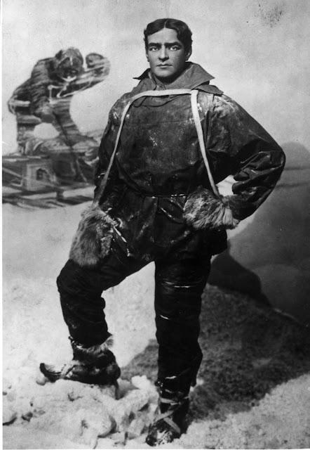 Ernest Shackleton photograph