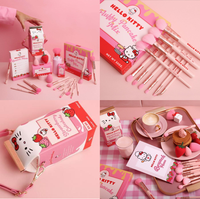 Spectrum x Hello Kitty Makeup Brush Collection 2021