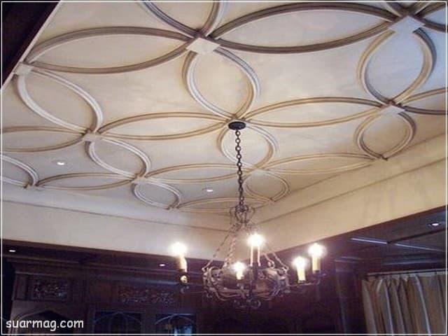 اسقف جبس بورد حديثة غرف نوم 11   Bedrooms Modern Gypsum Ceiling 11