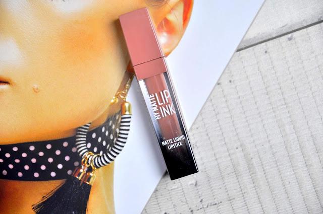 recenzja matowej pomadki w płynie golden rose my matte lip ink matte liquid lipstick