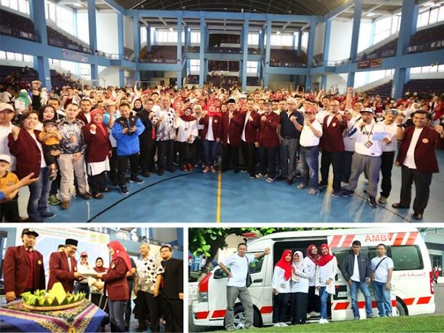 HUT ke-45 Persatuan Perawat Nasional Indonesia Tingkat Kota Bandung Digelar di Gymnasium UPI