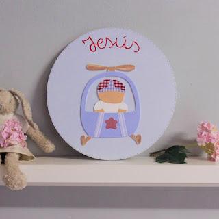 Placas de puerta infantiles y personalizadas con nombre