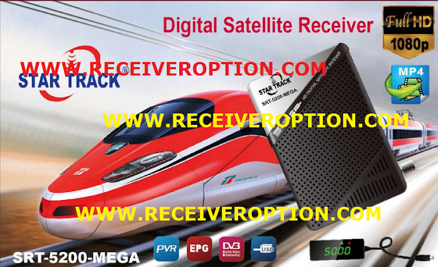 STAR TRACK SRT-5200-MEGA HD RECEIVER POWERVU KEY NEW SOFTWARE