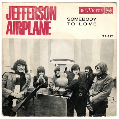 Discos Con Mucho Polvo Jefferson Airplane  Somebody To