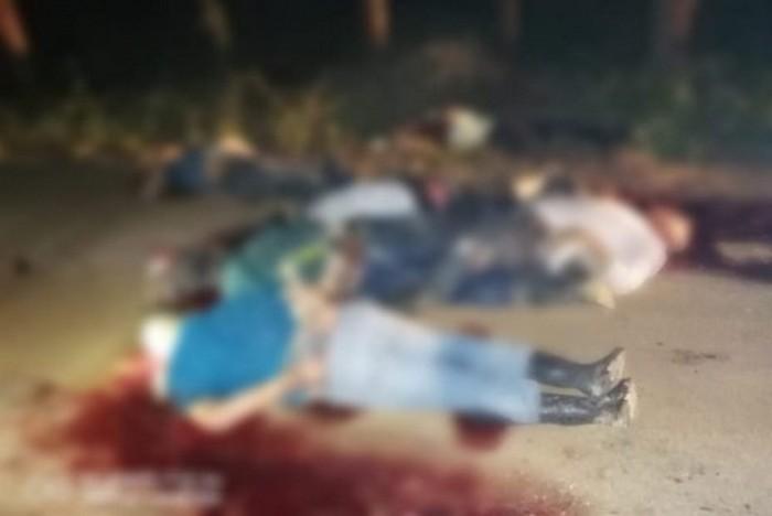 Masacre en Veracruz, Sicarios ejecutan a 10 personas en Las Choapas
