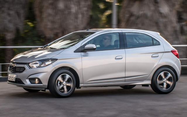 Chevrolet Onix 2019 - carro mais vendido do Brasil