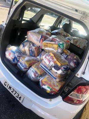 Mais de 400 cestas básicas já foram entregues pelo Fundo Social em parceria com a Assistência Social de Registro-SP