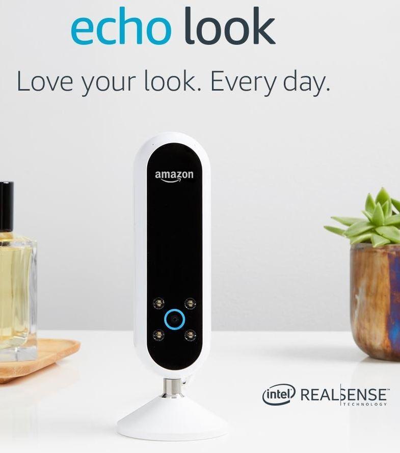Image Sensors World: Amazon Echo Look Includes Intel 3D Camera