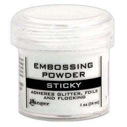Sticky Embossing Powder