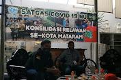 Satgas Covid19 NU Kota Mataram Bersama UNICEF Bekali Relawan Turun Lapangan