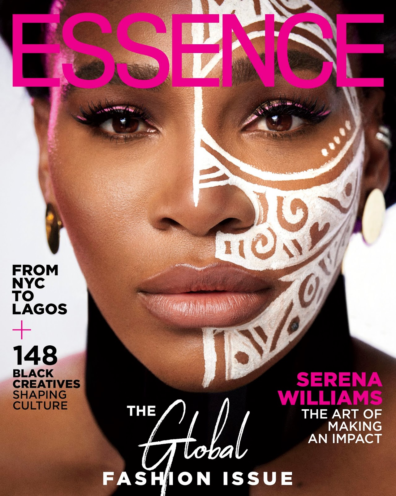 Serena Williams Covers The Global Fashion Issue of Essence Magazine