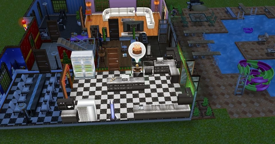 How To Bake A Birthday Cake Sims