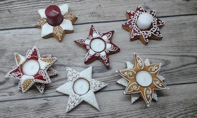 świeczniki gwiazdy