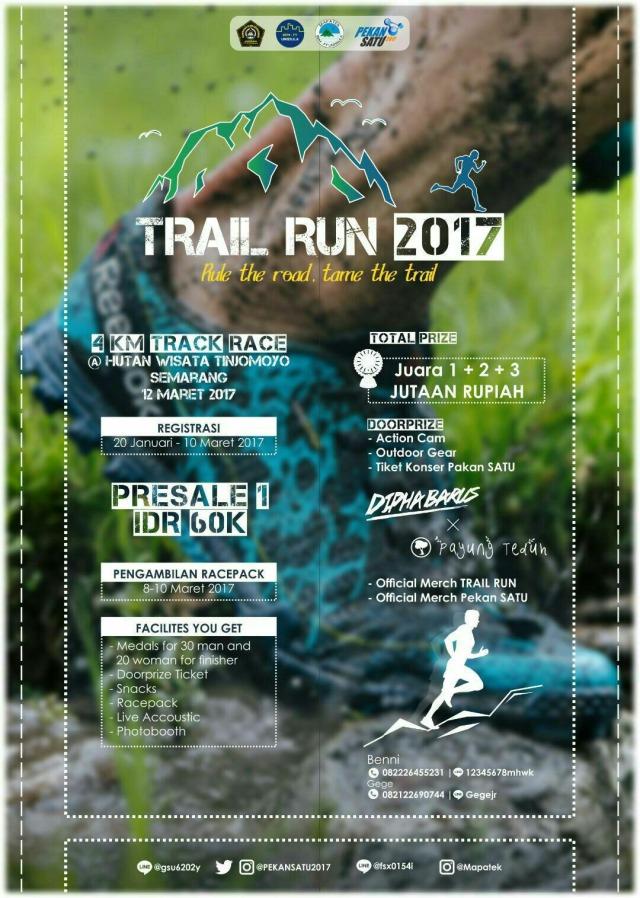 Mapatek Unissula Trail Run • 2017
